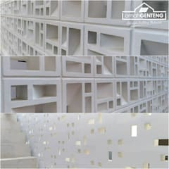 Roster Beton Minimalis - Omah Genteng - HP/WA: 08122833040: Kantor & toko oleh Omah Genteng,