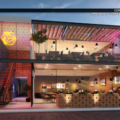 Bar & Klub  oleh CR Atelier, Eklektik