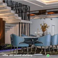 السعودية:  غرفة السفرة تنفيذ UTOPIA DESIGNS AND CONSTRUCTION