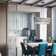 Проект квартиры г.Красногорск: Кухни в . Автор – Mstudio