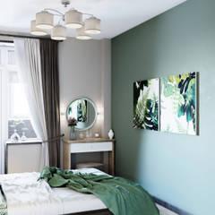Проект квартиры г.Красногорск: Спальни в . Автор – Mstudio