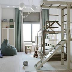 Квартира г. Химки: Детские комнаты в . Автор – Mstudio,