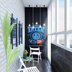 Balkon door Mstudio