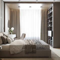 Квартира м.Проспект Вернадского: Спальни в . Автор – Mstudio