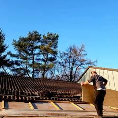 Flat roof by Dachdeckermeisterbetrieb Dirk Lange, Classic