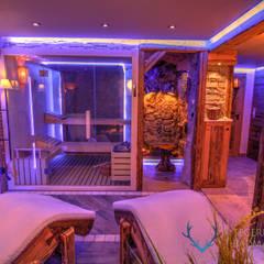 Saunas de estilo  por Stefan Necker BadRaumKonzepte