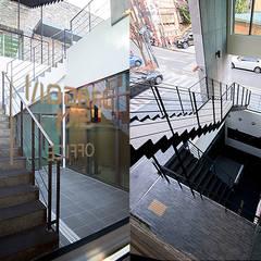 양재동 POP-UP HOUSE: 스튜디오메조 건축사사무소의  다가구 주택
