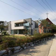 당진주택: 스튜디오메조 건축사사무소의  전원 주택