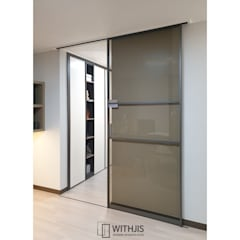 Glass doors by WITHJIS(위드지스)