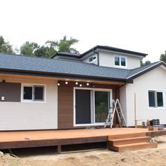 옥천 서대리 [美 家 休]: 나무집협동조합의  목조 주택