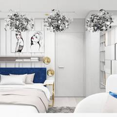 pokój nastoletniej córki: styl , w kategorii Pokój młodzieżowy zaprojektowany przez ARTDESIGN architektura wnętrz
