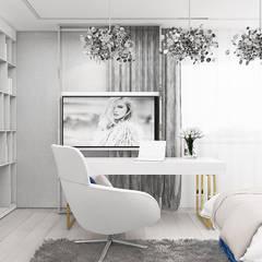 subtelne wnętrze pokoju nastolatki: styl , w kategorii Pokój młodzieżowy zaprojektowany przez ARTDESIGN architektura wnętrz