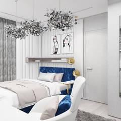 aranżacja pokoju dla nastoletniej córki: styl , w kategorii Pokój młodzieżowy zaprojektowany przez ARTDESIGN architektura wnętrz