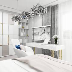 jasna sypialnia córki: styl , w kategorii Pokój młodzieżowy zaprojektowany przez ARTDESIGN architektura wnętrz