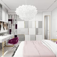 wyszukane wnętrze pokoju: styl , w kategorii Pokój młodzieżowy zaprojektowany przez ARTDESIGN architektura wnętrz