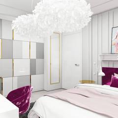 aranżacja z mocnym akcentem kolorystycznym: styl , w kategorii Pokój młodzieżowy zaprojektowany przez ARTDESIGN architektura wnętrz
