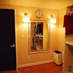 Dressing room by 하우스팩토리
