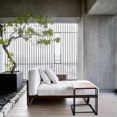 Balcón de estilo  por 瑞嗎空間設計