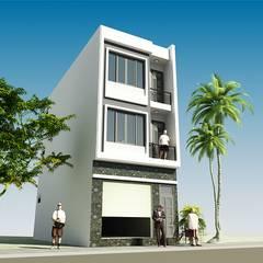 Villas by CÔNG TY CỔ PHẦN XD&TM KIẾN TẠO VIỆT, Modern