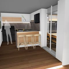Área Gourmet: Terraços  por Form Arquitetura e Design