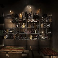 Wine cellar by Antonio Parrondo Interiorismo