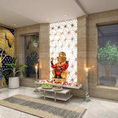 LUXURY PENTHOUSE AT NEAPEANSEA ROAD - MUMBAI:  Spa by NUOVO IDEAS
