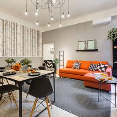 غرفة السفرة تنفيذ Creattiva Home ReDesigner  - Consulente d'immagine immobiliare