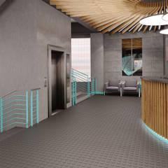 Ресепшен: Коммерческие помещения в . Автор – Nadeene design&style