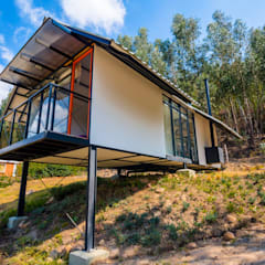 Passive house by Camacho Estudio de Arquitectura, Country Engineered Wood Transparent