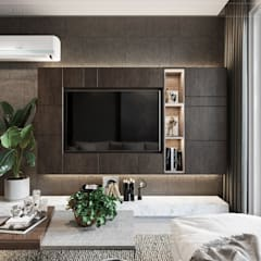 Living room by ICON INTERIOR