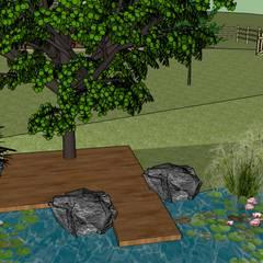 Garden Pond by Conseils en aménagement paysagés Intérieurs/Extérieurs