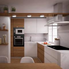 Built-in kitchens by nowheresoon. estudio creativo en madrid
