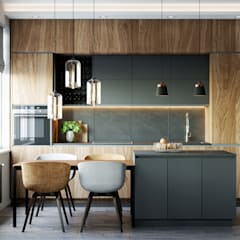 Химки Кухня в стиле лофт от Margarita Zenova Лофт