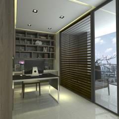Study/office by 青易國際設計