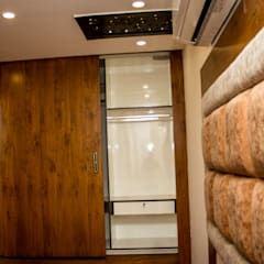 THREE BHK APARTMENT IN KARLA ONE OF THE PRESIGIOUS PROJECT IN BANGALORE BY SSDECOR:  Small bedroom by SSDecor