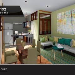 : Casas multifamiliares de estilo  por Inter Designer