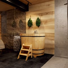 Sauna by TES_tudio