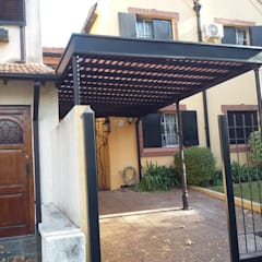Carport by sinnic, Colonial Wood-Plastic Composite