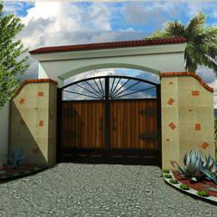 Wooden doors by AR Arquitectura y Diseño