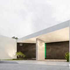 Casas pequenas  por RIALD arquitectos
