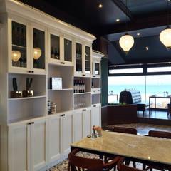 이탈리안 레스토랑 ITALIAN RESTAURANT_부산 인테리어: 감자디자인의  주방,클래식