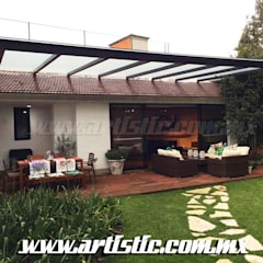 Lean-to roof by Artistic de MExico