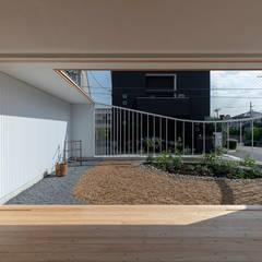 宝塚の家 house in takarazuka: arbolが手掛けた庭です。
