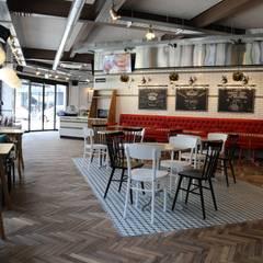 디저트 카페 인테리어 DESSERT CAFE INTERIOR_부산인테리어 : 감자디자인의  다이닝 룸,북유럽