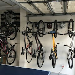 Garage Wall Storage Ideas:  Gym by MyGarage,