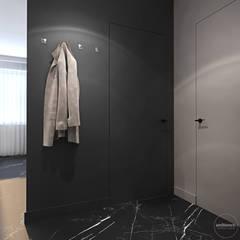 Mieszkanie w kolorze kaszmiru: styl , w kategorii Korytarz, przedpokój zaprojektowany przez Ambience. Interior Design