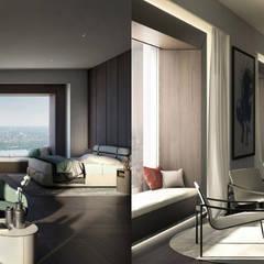Molteni & C Furnished Penthouse, Nova Iorque: Hotéis  por DelightFULL