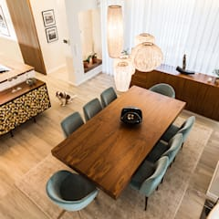 اتاق غذاخوری by SHI Studio, Sheila Moura Azevedo Interior Design