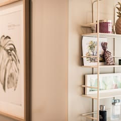 Cuartos pequeños de estilo  por SHI Studio, Sheila Moura Azevedo Interior Design