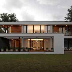 Дом в современном стиле. Vladimir-house 2: Дома с террасами в . Автор – Sboev3_Architect